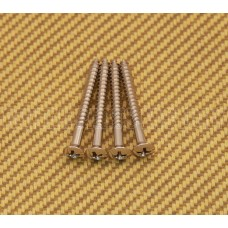 NSCR-IN-N Nickel Neck Plate Screws for Guitar/Bass Short Deluxe Style