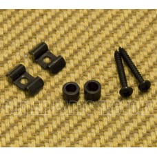 SGVW-B (2) Black Vintage Style String Guides for Guitar