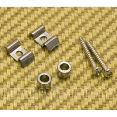 SGVW-C (2) Chrome Vintage Style String Guides for Guitar