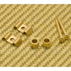 SGVW-G (2) Gold Vintage Style String Guides for Guitar