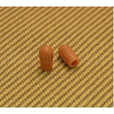 SK-0040-022 (2) Amber Switch Tips Gibson/Switchcraft