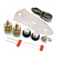 SKB-KIT Stack Knob Control Assembly Kit for Fender '62 J Jazz Bass