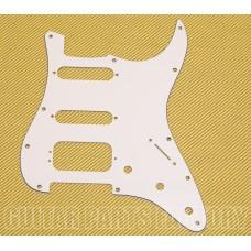 STAD-204 3-ply White Pickguard HSS for Fender Stratocaster Guitar w/Humbucker 005-0671-000