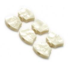 (6) SPERZEL WHITE PEARLOID 3+3