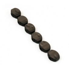 (6) SPERZEL BLACK PEARLOID 6 INLINE