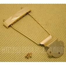 T120G Diamond Gold Long Trapeze Tailpiece for Gibson L-50, L48, ES-125, ES-330