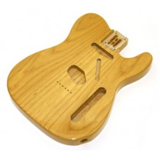 TBF-NAT Clear Finished Replacement Body for Telecaster Guitar