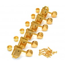 TK-0779-002 Gotoh Gold Locking Post Vintage Tuners for Fender Strat/Tele® Guitar