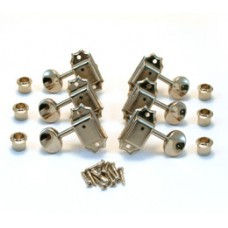GOTOH VINTAGE 3+3 TUNERS NICKEL BUTTON