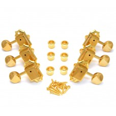 TK-0875-002 Gotoh Gold 3x3 Tuners for Vintage Gibson Les Paul/SG/ES Guitar TK-0875-002
