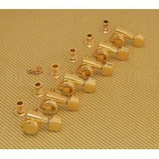 TK-0974-002 Schaller Gold Locking 6 Inline Tuners 6L