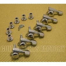 TK-0974-010 M6 Schaller Chrome Locking 6 Inline Tuners for Strat/Tele® Guitar