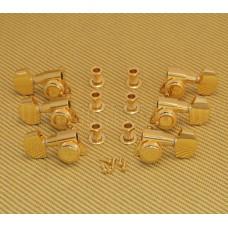 TK-0976-002 Schaller Gold Locking 3+3 Tuners #M6 2900