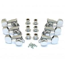 TK-0976-010 Schaller Chrome Locking 3+3 Tuners #M6 2900