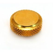 (1) SCHALLER GOLD LOCK KNOB FOR LOCKING TUNERS