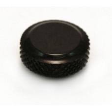 (1) SCHALLER BLACK LOCK KNOB FOR LOCKING TUNERS