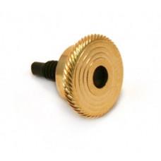 (1) GOLD SPERZEL LOCKING KNOB & SCREW