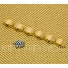 TK-MINI-G Fender Ping Gold Mini Guitar Tuner Buttons for Strat/Tele Modern '12 Up