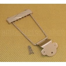 TP-0410-001 Nickel Diamond Tailpiece  for Hollow Body Guitar