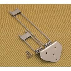 TP-0433-010 Chrome Frequensator Style Trapeze Tailpiece