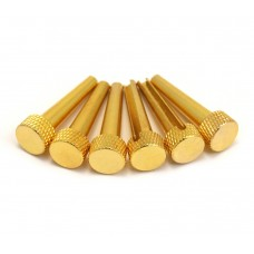 TP1B D'Andrea Solid Brass Tapered Acoustic Guitar Bridge Pins