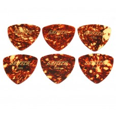 Tort-G346LT (6) Genuine Gretsch Thin 346 Tortoise Celluloid Guitar Picks