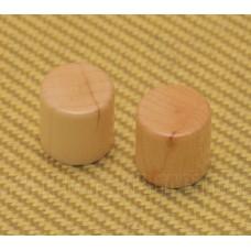 WBRK-M (2) Maple Wood Barrel Knobs