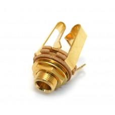 WDE12SG Switchcraft Gold 1/4