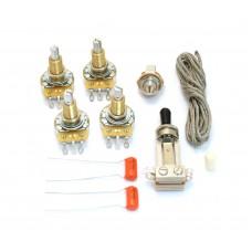 WKLP-VNT Vintage Style Wiring Kit For Les Paul