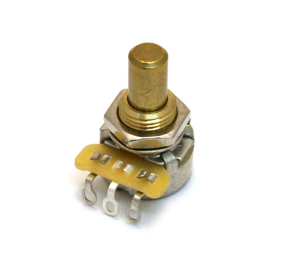 Fender 1 Meg Linear Mini Solid Shaft Potentiometer