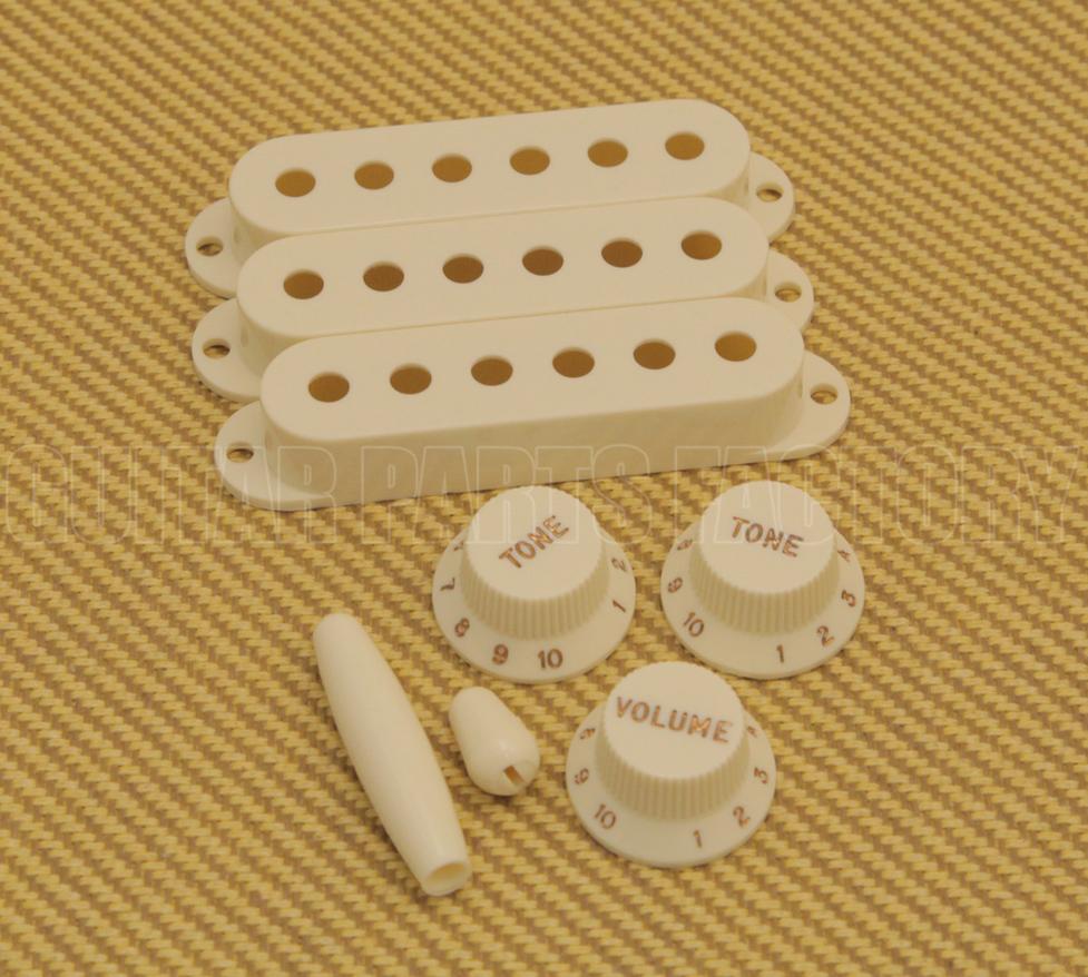 Vintage White Pure Vintage /'60s Stratocaster® Fender Accessory Kit