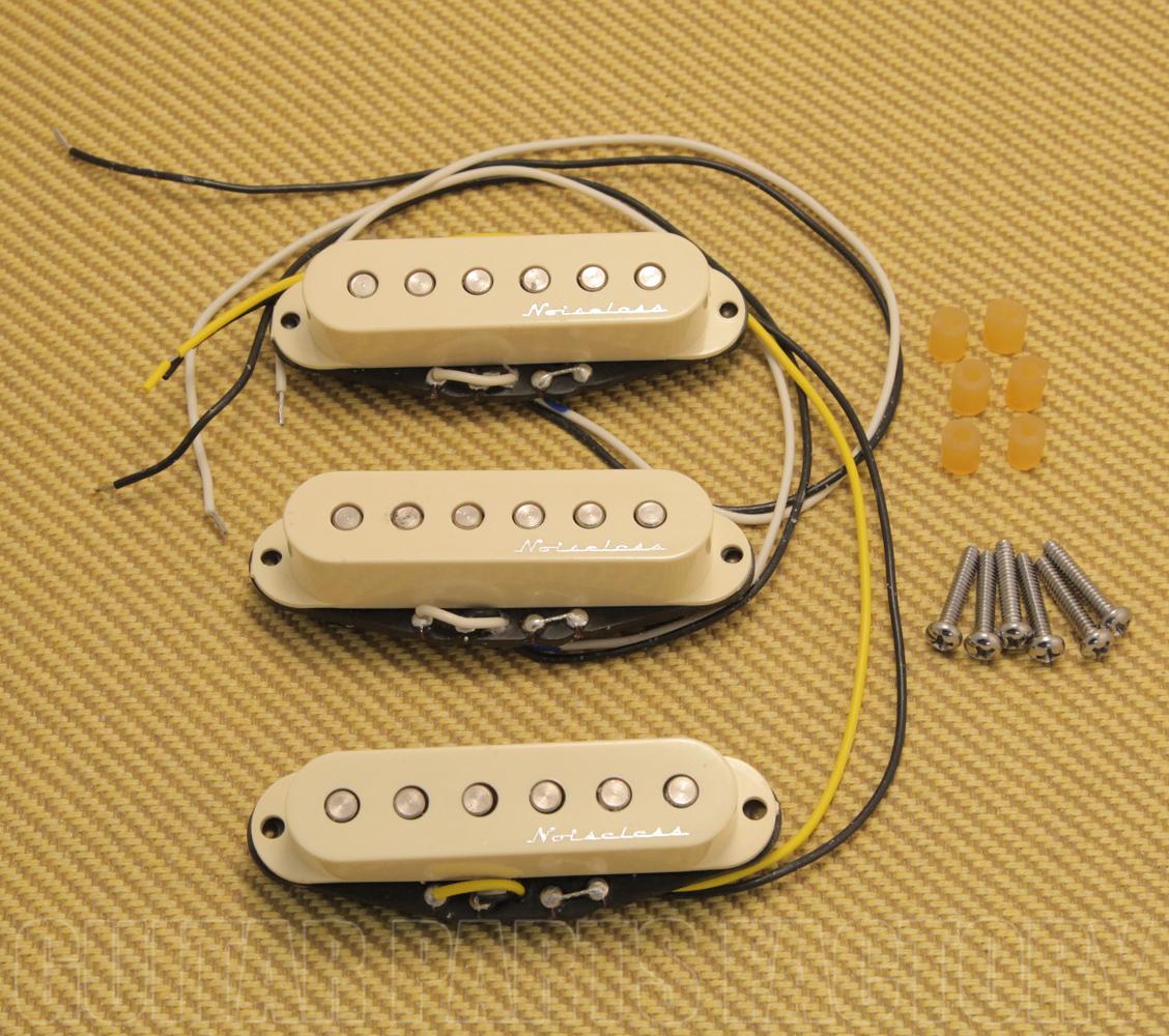 099-2105-000 Fender Hot Noiseless Stratocaster Pickup Set