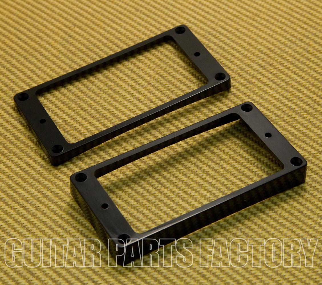 MonkeyJack Plastic Dual Humbucker Pickup Mounting Ring Frame for LP Les Paul Electric Guitar