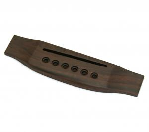 GB-0850-0RF Acoustic Guitar Bridge Finished Rosewood