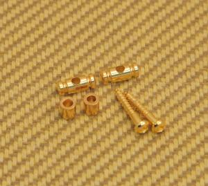 AP-0727-002 Gotoh Gold Barrel String Guides for Tele/strat Guitar