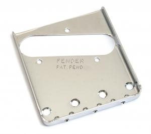 005-4162-049 Fender '52 Tele Telecaster 3-Saddle Guitar Bridge Plate Pat. Pend. 0054162049