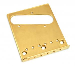 003-8996-000 Fender AM Standard Tele Gold Bridge Plate