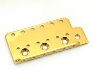 BP-0611-002 Gold Bridge Plate for Vintage Stratocaster