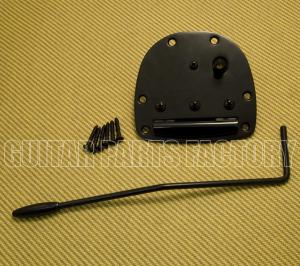 SB-0211-003 Jaguar Jazzmaster Black Tailpiece & Tremolo Arm