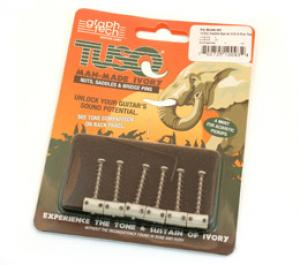 PQ-8166-00 Graph tech ios tusq saddles for 6 saddle tele bridge