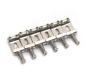 BP-0023-001 Vintage Style Stamped Bent Steel Guitar Bridge Saddles Stratocaster®