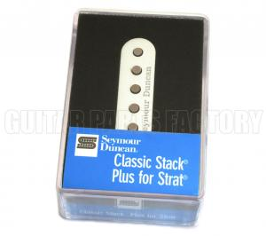 11203-11-WC Seymour Duncan Classic Stack Plus Strat Middle White