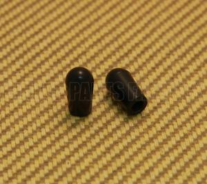 SK-0040-023 (2) Black Toggle Switch Tips Gibson/Switchcraft