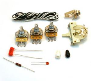 WKS-NSLS Noiseless Wiring Harness Kit for Strat