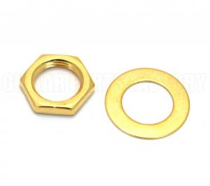 EP-0654-002 Gold Nut & Dress Washer for Switchcraft  Jacks