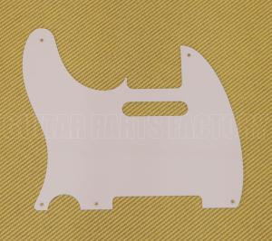 PG-0560-L25 Lefty 1-Ply White for Fender Tele