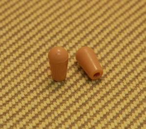 SK-0643-022 (2) Amber Metric Guitar Toggle Switch Tips Epiphone/Import Guitar