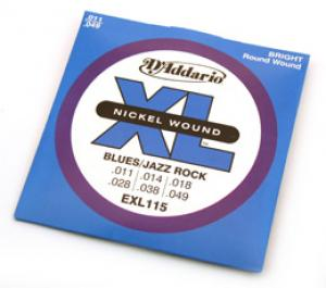 D'ADDARIO XL .011-.049 ELECTRIC GUITAR STRINGS