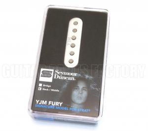 11203-31-Wh Seymour Duncan YJM Fury for Strat Neck/Mid White