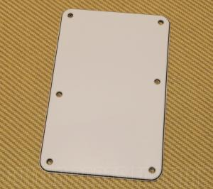 003-8948-000 Fender White Strat Guitar Backplate Back Plate No Hole Sambora/Dlx